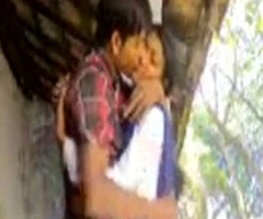 Free mating clip of desi village girl outdoor mating in uniform
