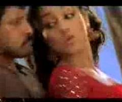 Trish sexy with Vikram Bheema