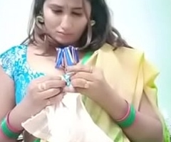 Swathi naidu sexy in all directions saree and showing boobs part-1