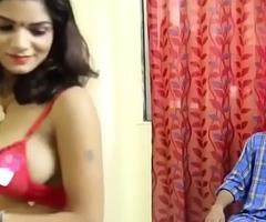 Hot DESI BHABHI romance with DEVAR in bedroom hindi video
