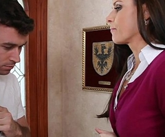 Small titted mom India Summer shafting