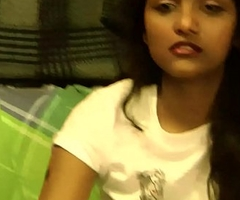 Indian College Teen Divya Striptease Show