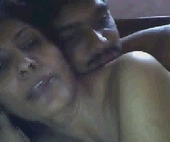 indian housewife having fun with boyfriend on webcam part 2