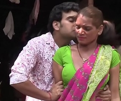 Hot bgrade maid being meretricious -- awesome cleavage