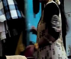 Desi Randi Bhabhi Changing Attire