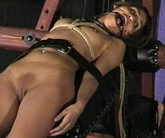 Sahara Knite humiliating face bondage and spanked indian bdsm slave not far from harsh