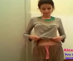 horny Indian desi cute teen acquires alert be fitting of action faithfulness (20)