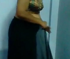 Mature Indian Ungentlemanly Obtaining Dressed