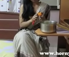 Horny Lily Sexy Indian Bhabhi Teacher Dirty Talking and Seducing Her Students