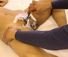 Mona Bhabhi Procurement Her Indian Pussy Shaved Wide of Her Husband
