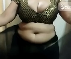 X shona bhabhi teaching in any way helter-skelter trouble saree