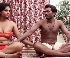Indian Couple's Sensual Yoga Sexy Making love Membrane [HD] - PORNMELA.COM