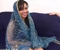 Sexy Desi Fucking Membrane of Indian Battle-axe Aisha