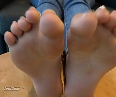 Perfect trini indian feet