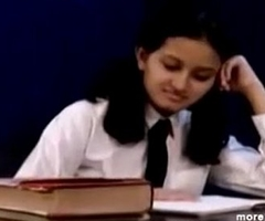 Marketable Hot Indian PornStar Neonate as School girl Demands Beamy Boobs and masturbating Part1 - indiansex